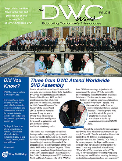 The DWC World - Fall 2018 edition
