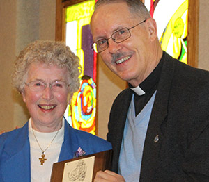 Sr. Helen Huewe, OSF, honored for service