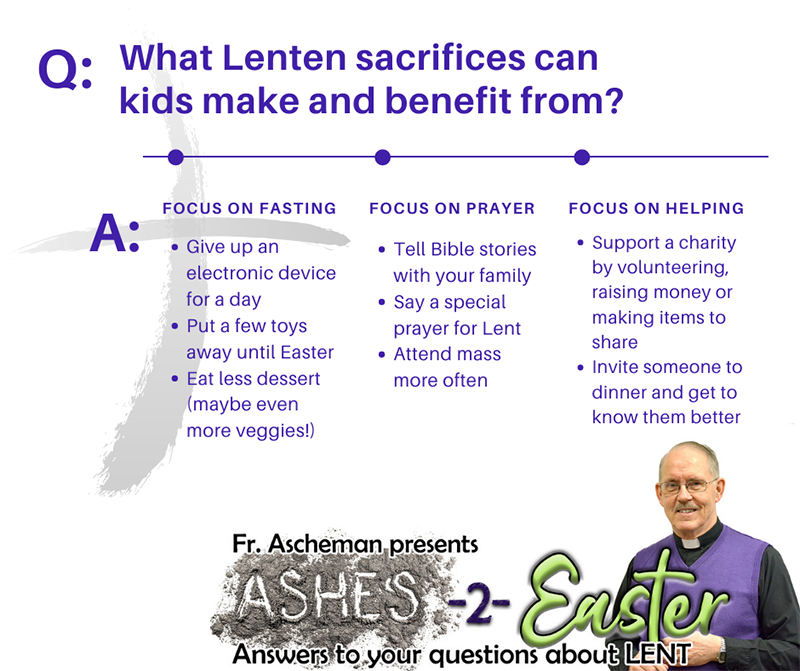 Lenten ideas for kids