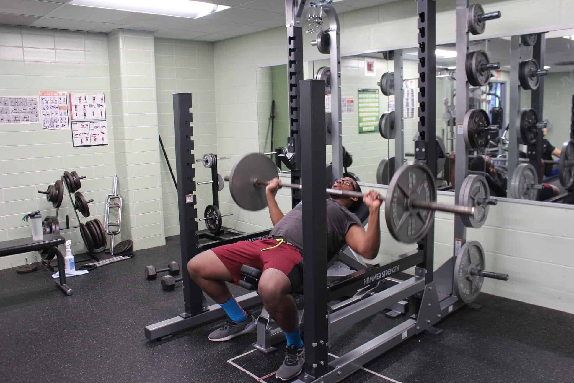 Student weight room